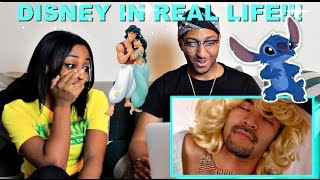 """Couple Reacts : """"Disney Movies In Real Life!"""" By Nigahiga Reaction!!!"""