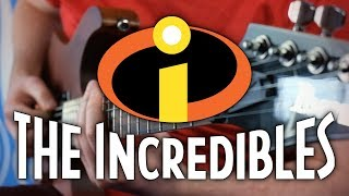 The Incredibles Theme on Guitar