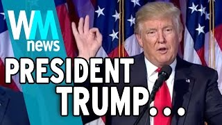 Trump Wins the White House! 5 Need to Know Facts!