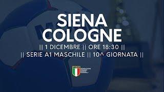 Serie A1M [10^]: Siena - Cologne 26-21