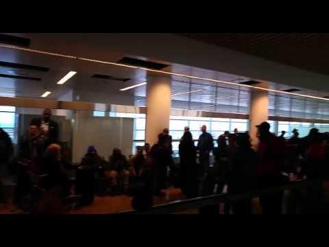 Jerusalem Post News: Scene of expolosion in Belgium airport (video: Israel Yaret)