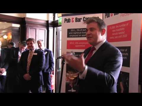 Community Pubs Minister Brandon Lewis MP praises 'phenomenal' pub industry