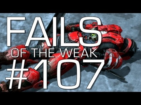 Halo: Reach - Fails of the Weak Volume 107! (Funny Halo Bloopers and Screw-Ups!)
