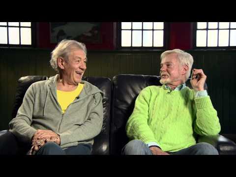 Interview with Ian McKellen and Derek Jacobi