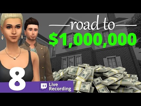 The Sims 4 - Road to $1,000,000 - Part 8
