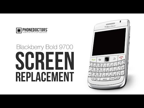 BlackBerry BOLD 9700 Screen Repair / LCD Guide (2)