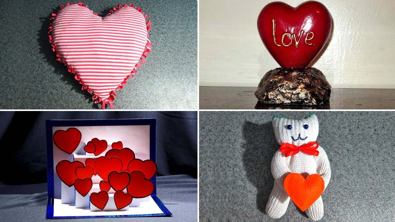 Подарки для дня влюбленных своими руками 291