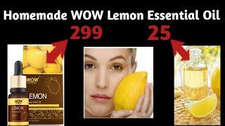 Secret Trick l DIY WOW Skin Science Lemon Essential Oil l How To Make Lemon Essential Oil At Home l