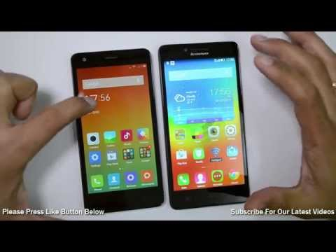 Xiaomi Redmi 2 VS Lenovo A6000- Detailed Comparison Of Display, Camera, Benchmarks And Features