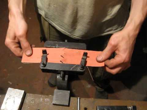 Склейка ленты для гриндера своими руками