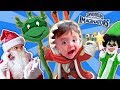 SANTA SURPRISES KID W/ SKYLANDERS IMAGINATORS TOY! JINGLE BEL...