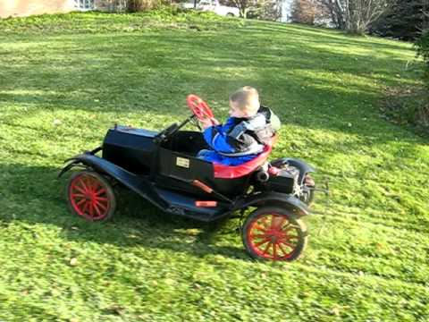 Ford Model T go kart - YouTube
