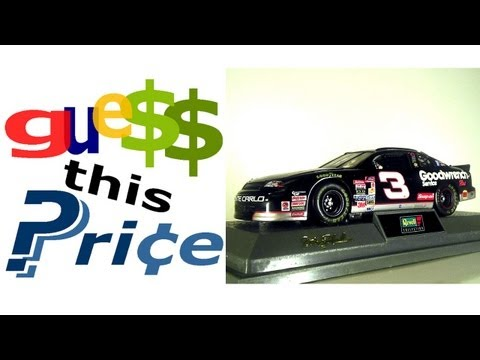 Revell Dale Earnhardt Chevrolet Monte Carlo - GUESS THIS PRICE! EBAY AUCTION GAME