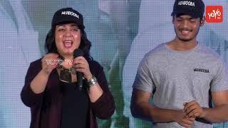Actress Charmi Kaur Speech at Mehbooba Movie Press Meet   Tollywood