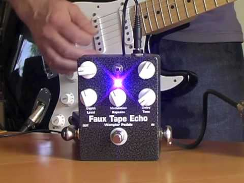 Wampler: FAUX TAPE ECHO (with Triple Wreck)