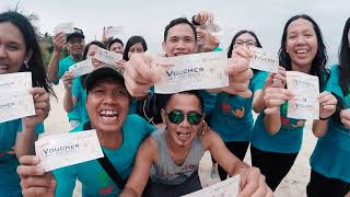 Fun Games seru di Pulau Lengkuas | Trip Istana Group❤