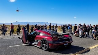 Koenigsegg Agera RS DESTROYS Bugatti World Speed Record
