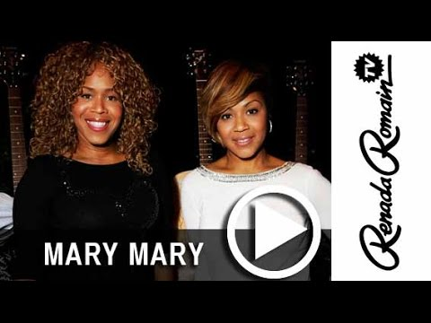 Tina & Erica Campbell of Mary Mary Says