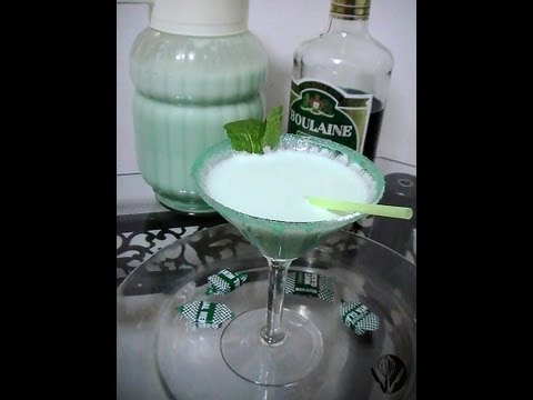 Mint Cocktail_Cóctel de Menta