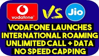 Vodafone launches Internatiaonl Roaming Pack with Unlimited Data and Calls | Vodafone i-RoamFREE