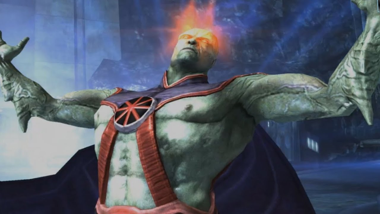 martian manhunter ipad wallpaper