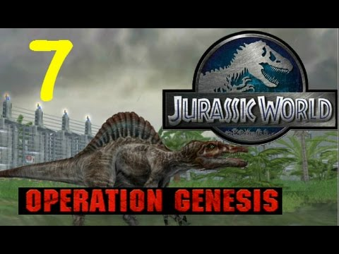 Jurassic World: Operation Genesis--Episode #7--Tornado Destruction & FEMA