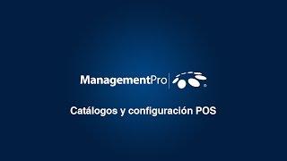 POS - Catálogos y Configuración