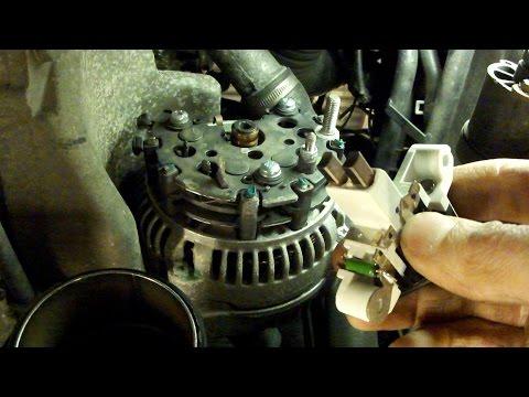 Images Of Замена щеток регулятора напряжения генератора Bosch (Mercedes - Images Of All