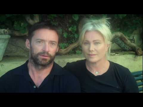 Hugh Jackman and Deborra-Lee Furness support World Vision s East Africa Appeal