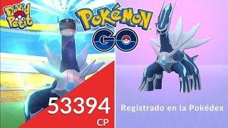 PRIMERAS INCURSIONES Y REGISTRO DE DIALGA! [Pokémon GO-davidpetit]