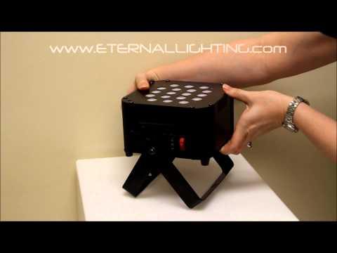 CUBEecho UV - Battery Powered - LED - Wireless DMX -  Eternal Lighting