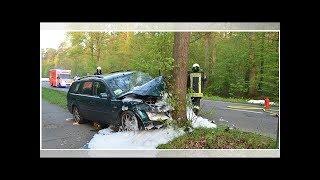 Schwerer Unfall bei Bensberg: Auto prallt frontal gegen Baum – Fahrer (58) tot