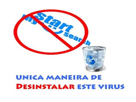 My Start Search  Remover Eliminar Deletar Apagar Quitar  Uninstall Start My Search