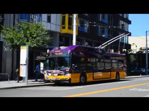 The New Breed! : King County Metro 2015 New Flyer XT40