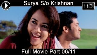 Surya Son of Krishnan Telugu Movie Part 06/11 || Suriya, Sameera Reddy, Simran, Ramya