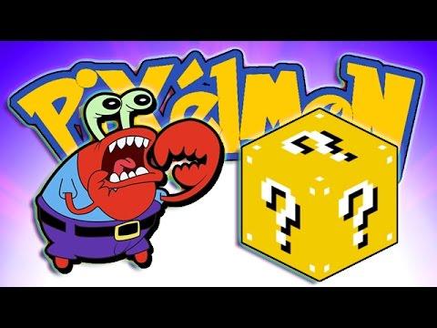 Minecraft: Lucky Blocks Pixelmon! Mr. Krabs w/BajanCanadian & Lachlan