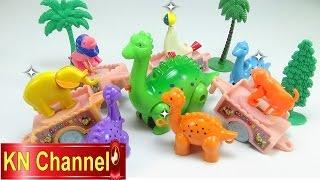 Đồ chơi trẻ em Bé na Khủng Long Xe ôm 1 ngày làm việc Dinosaur Toy's working day Childrens toys