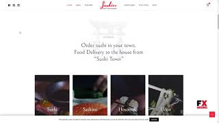 Sushico - Sushi and Asian Food Restaurant WordPress Theme      Garnet