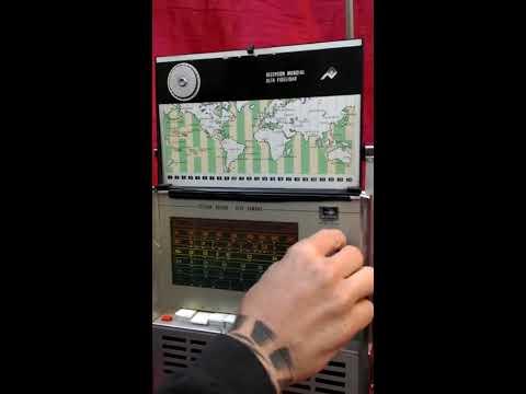 Antigua Radio 7 Mares funcionando