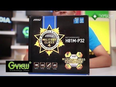 OverclockZone TV EP.446 : MSI H81M-P32 (HD)
