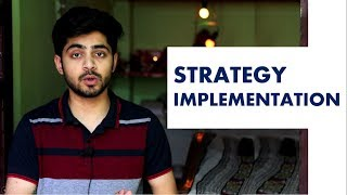 STRATEGY IMPLEMENTATION IN HINDI | Concept & Process | Strategic Management SM