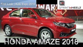 2018 Honda Amaze | Auto Expo 2018 | First Look | Sprintwheelz