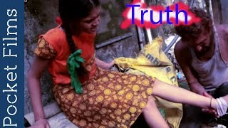 Old man with young girl - touching relationship short film - Truth