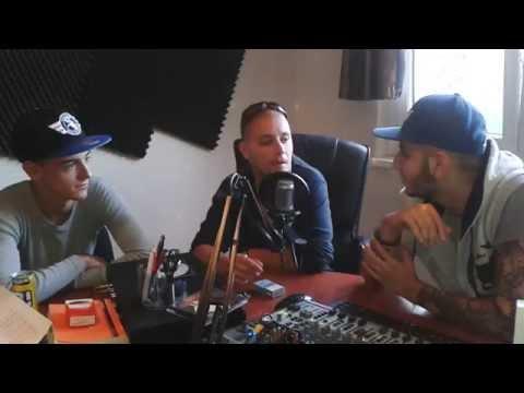 Ghetto Radio 2014 - G.w.M & Scarfo VideóInterjú @ Szinva Rádió Miskolc