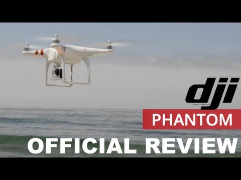 DJI Phantom Quadcopter REVIEW (with GoPro Hero 3)