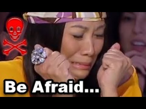 *CREEPY SCARY MAGIC* Tricks That FREAKS Out EVERYONE! BE AFRAID NOW Asia's Got Talent - Sacred RIANA
