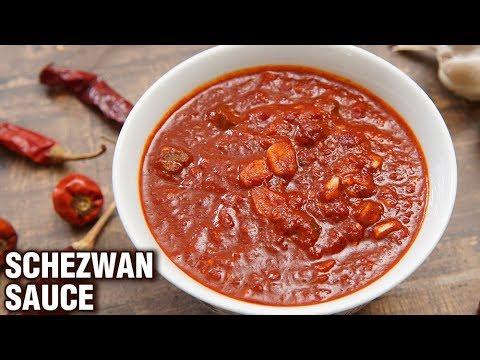 Schezwan Sauce Recipe - Easy Homemade Schezwan Sauce - Indo-Chinese Sauce Recipe - Tarika