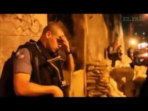 CENAS REAIS - PM é ferido durante troca de tiros com traficantes