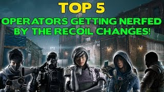 Top 5 Operators Getting NERFED by the Recoil Changes in Grim Sky