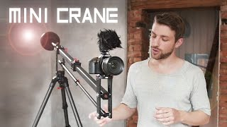 Should you buy a jib/crane? [iFootage Minicrane M1-III]